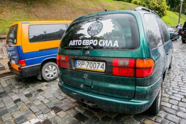 Чернівецькі «євробляхарі» приєднаються до всеукраїнської акції (Відео)