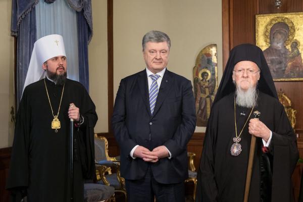 Томос – фактично ще один Акт проголошення незалежності України, – Порошенко