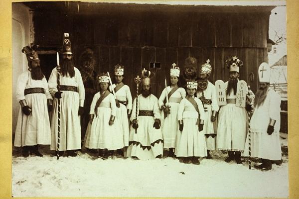Вертеп на Буковині в 1899 році
