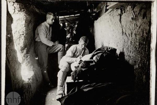 Село Рідківці на світлинах 1915 року