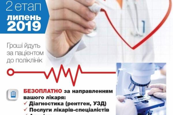 Що для буковинців зміниться у системі охорони здоров'я у 2019 році?