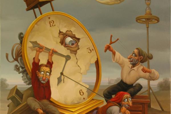 Чернівчан запрошують на виставку сюрреалістичного живопису Анатолія Козельського