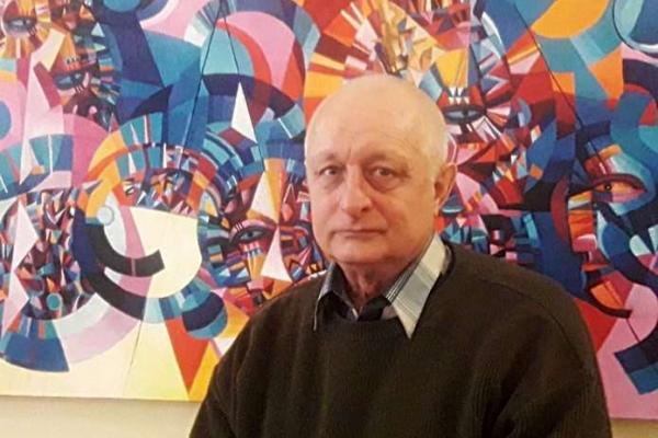 Андрій Житару вікрив у Чернівецькому художньому музеї виставку «Добрий день, Кандинський!»