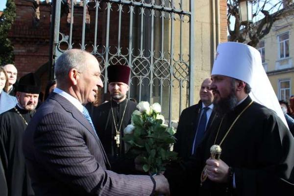 «Я гордий, що я буковинець!», - митрополит Епіфаній (Фото)