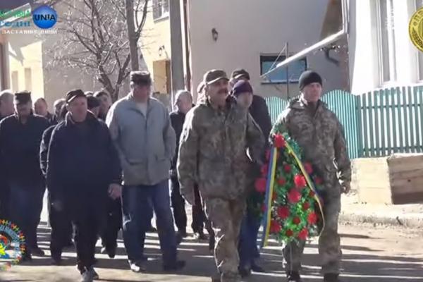 На Заставніщині вшановували пам'ять небесної сотні (Відео)