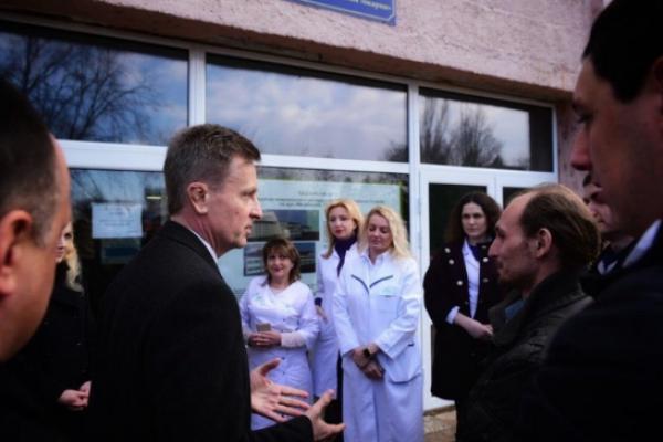 В Ужгороді Наливайченку намагалися перешкодити зустрічі з виборцями