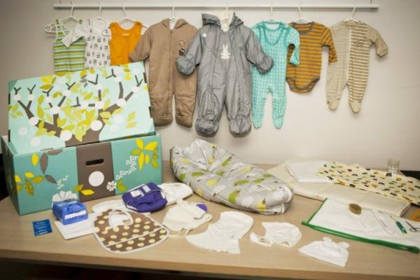 Чернівецька область отримала першу партію «пакунків малюка»