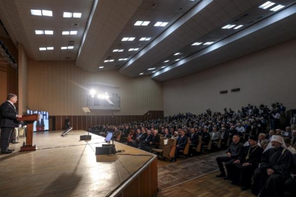 Президент подякував буковинцям за підтримку українських воїнів