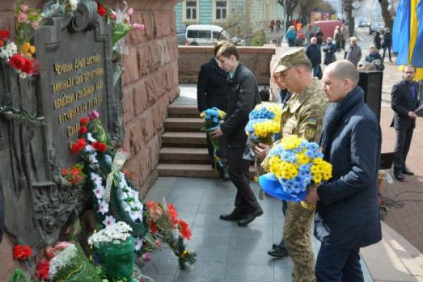 Чернівці відзначили 75-річницю визволення міста від нацистів (Фото)
