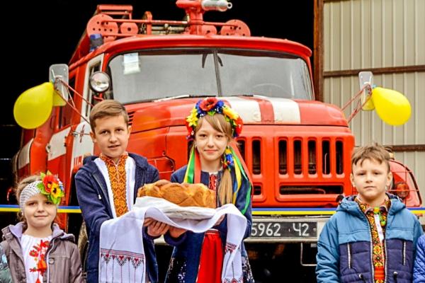 У гірській місцевості Буковини запрацювала нова місцева пожежна команда (Фото)