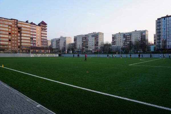 На новому стадіоні у Чернівцях можна буде займатися безкоштовно