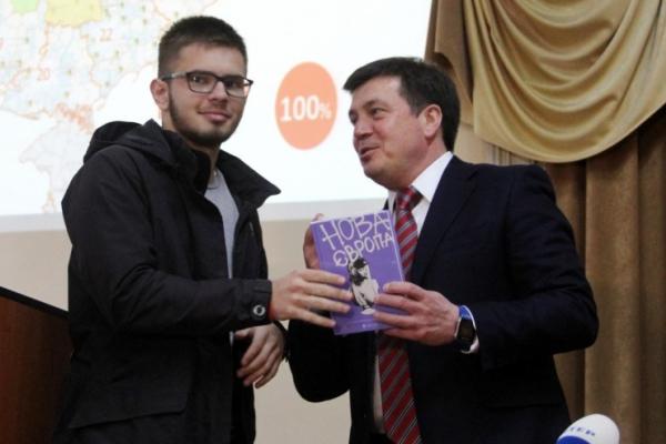 Геннадій Зубко поспілкувався зі студентами факультету історії, політології та міжнародних відносин ЧНУ