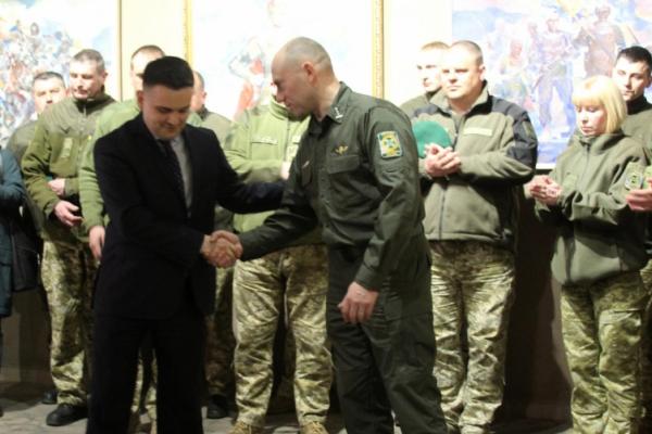 Михайло Павлюк привітав прикордонників