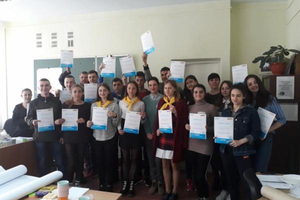 У Сторожинці відбувся другий з трьох тренінгів для молоді з сільської місцевості «Молодь в дії»