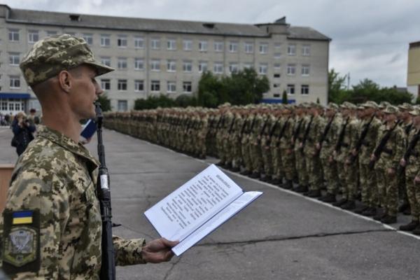 Буковинці склали військову присягу в Житомирському навчальному центрі Десантно-штурмових військ