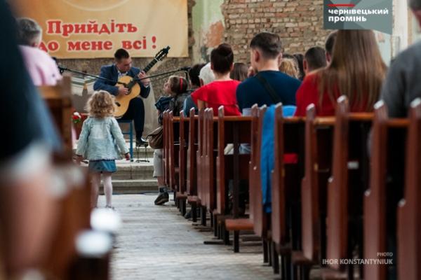 У Костелі Пречистого Серця Ісуса звучала класична музика (фото)