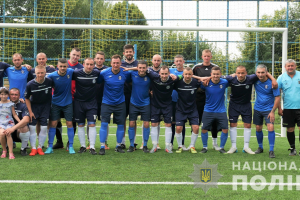 У Чернівцях відбувся чемпіонат з міні-футболу серед структурних підрозділів МВС