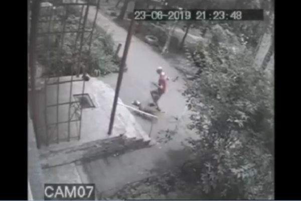 Правоохоронці розшукують живодера, який нацькував собаку на кота