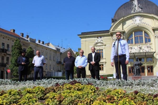 У Чернівцях відбувся пам`ятний мітинг, присвячений 78-й річниці початку Голокосту