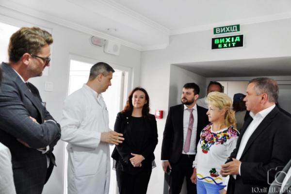 У Чернівецькому обласному онкодиспансері завершили реконструкцію відділення