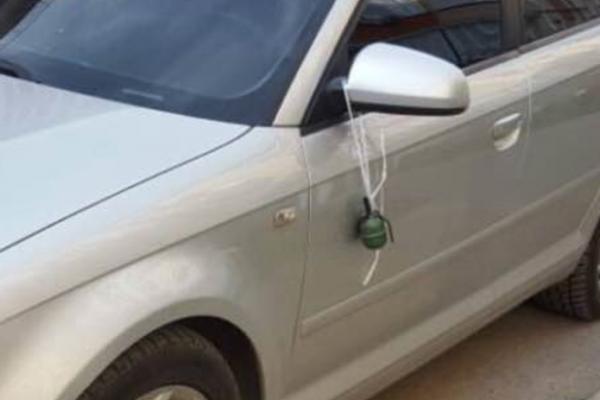 У Чернівцях невідомі прив'язали гранату до автомобіля