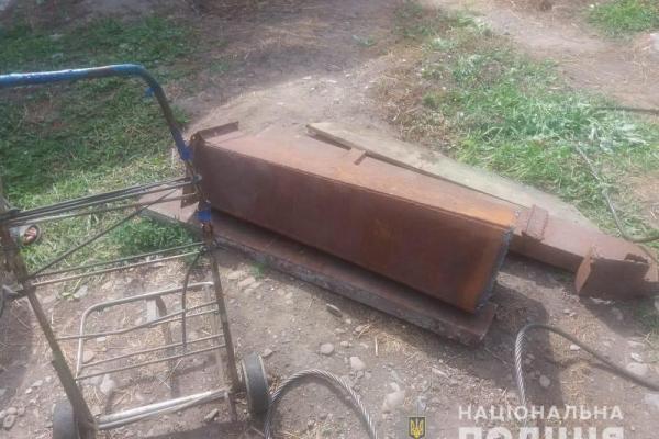 Поліція Чернівців попередила крадіжку металобрухту