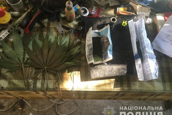 Житель Сокирянщини вирощував на присадибній ділянці «траву щастя»