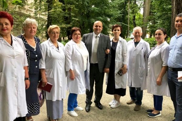 Іван Мунтян відвідав Чернівецьку обласну психіатричну лікарню