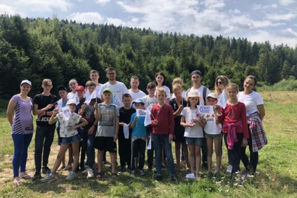 Буковина: правову гру «Канікули без булінгу!» провели фахівці юстиції у дитячому наметовому таборі «Ойкос»