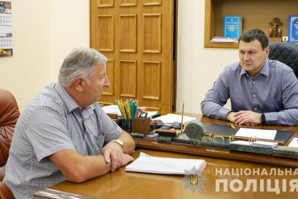 Начальник ГУНП в Чернівецькій області провів прийом громадян