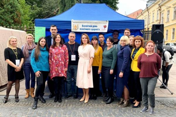Буковинці провели акцію на підтримку психічного здоров'я