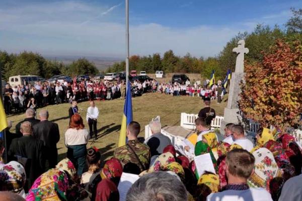 На Буковині відзначили День захисника України з молебнем, козацькою кухнею та вшануванням воїнів УПА
