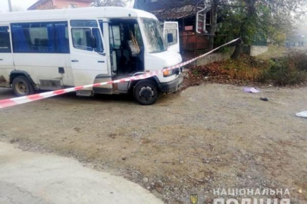 На Буковині автобус збив на смерть жінку