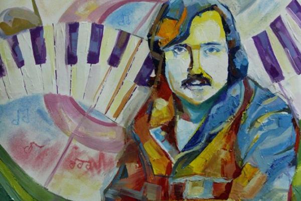 У Чернівцях презентували виставку «Мелодія Володимира Івасюка на палітрі юних художників» (Фото)