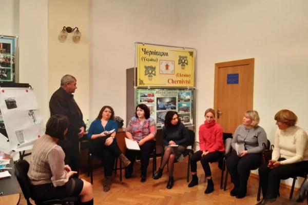 На Буковині навчали соцпрацівників ОТГ