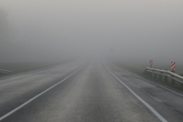 Ожеледь та туман: на Буковині оголосили штормове попередження