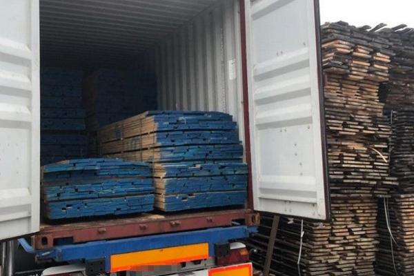 На Буковині зупинили екпорт деревини до однієї з країн Близького Сходу на 2,8 мільйони