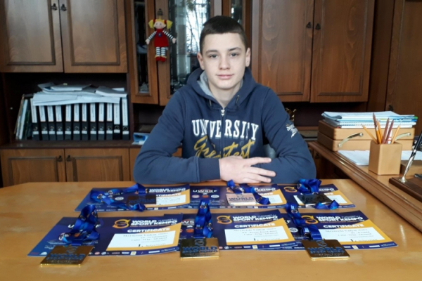Вихованець Чернівецької обласної ДЮСШ - переможець Кубку світу з пакратіону
