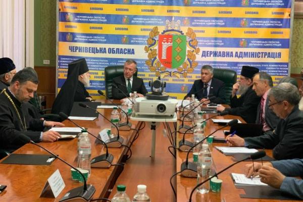 На Буковині закликають представників усіх релігійних конфесій об'єднатись задля благополуччя краю