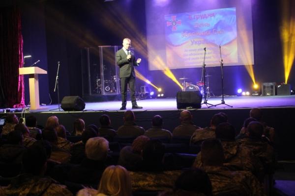 На Буковині привітали військових