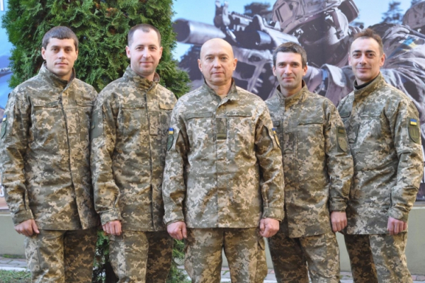 На Буковині завершились тридцятиденні навчальні збори з резервістами та військовозобов'язаними