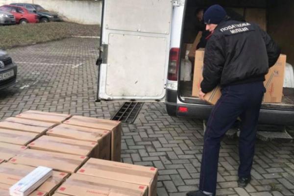 Півмільйонну контрабанду виявили правоохоронці на Буковині