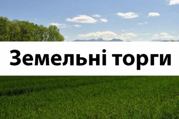У Чернівецькій ОДА відбулись земельні торги