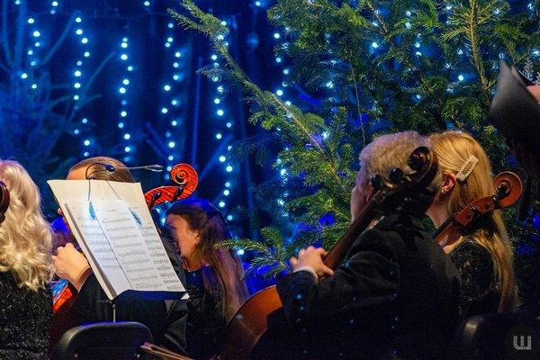 У Чернівецькій філармонії зіграли Різдвяний концерт