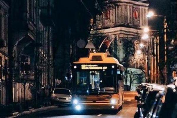 У новорічну ніч чернівецькі тролейбуси не курсуватимуть