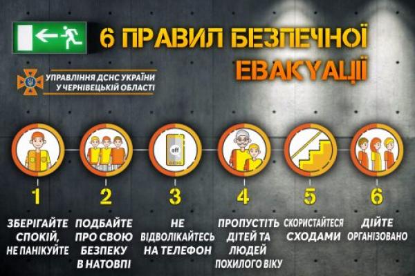 Рятувальники міста Чернівці нагадують про правила безпеки!