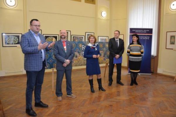 У Чернівцях презентували творчість угорського митця Мікши Рота