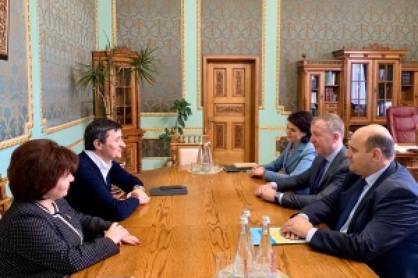 Голова Чернівецької облдержадміністрації зустрівся із головою Державної служби якості освіти України