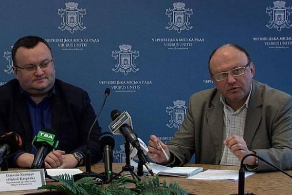 СБУ попереджали начальника освіти Мартинюка та мера Каспрука щодо постачання у чернівецькі садочки неякісного масла