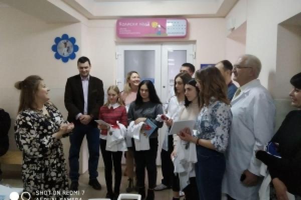 Обладнання на 324 тисячі гривень передали чернівецькій лікарні